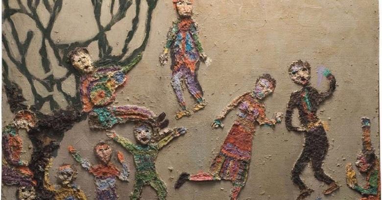 Niños en fiesta - Violeta Parra-1